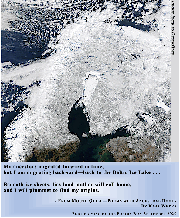 Baltic Ice Lake with caption